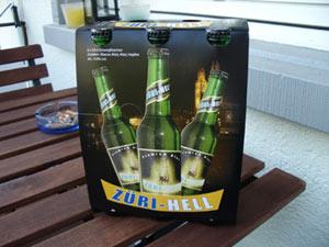 Neues Bier: Z�ri Hell